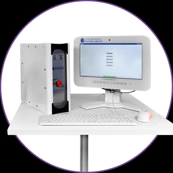 RespirAct® hard drive and monitor