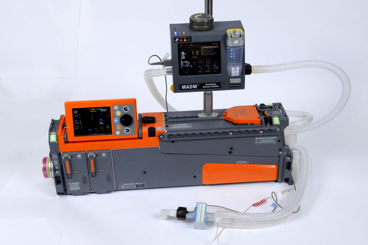 MADM™ - a revolution in mobile anesthesia