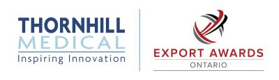 Thornhill Medical logo and Ontario Export Awards logo