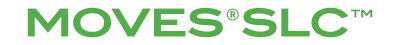 MOVES® SLC™ green logo
